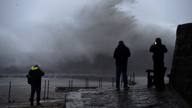 Tempest Ciara: Travel interruption as UK hit by extreme storms