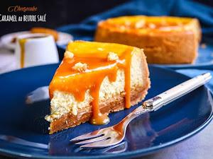 Cheesecake caramel au beurre salé ultime !