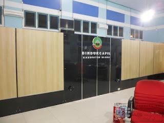 Pengadaan Langsung Sekat Partisi Ruangan Kantor Pemerintahan + Furniture Semarang