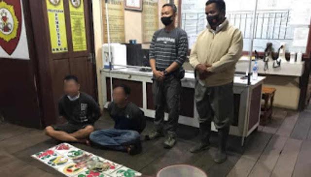 Polisi Grebek Judi Kolok-kolok di Desa Bagan Asam