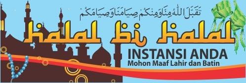 Bersihkan hati: Halal Bihalal, Idul Fitri, Minal 'Aidin