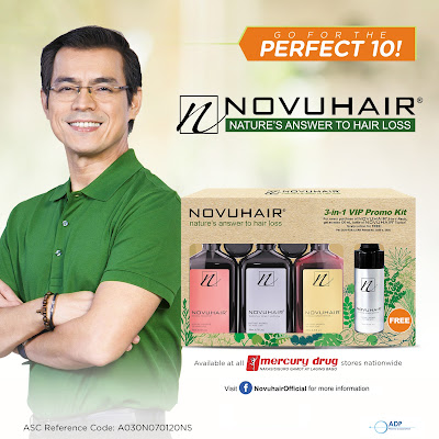 ADP Pharma Launches NOVUHAIR ® 3-in-1 VIP PROMO KIT