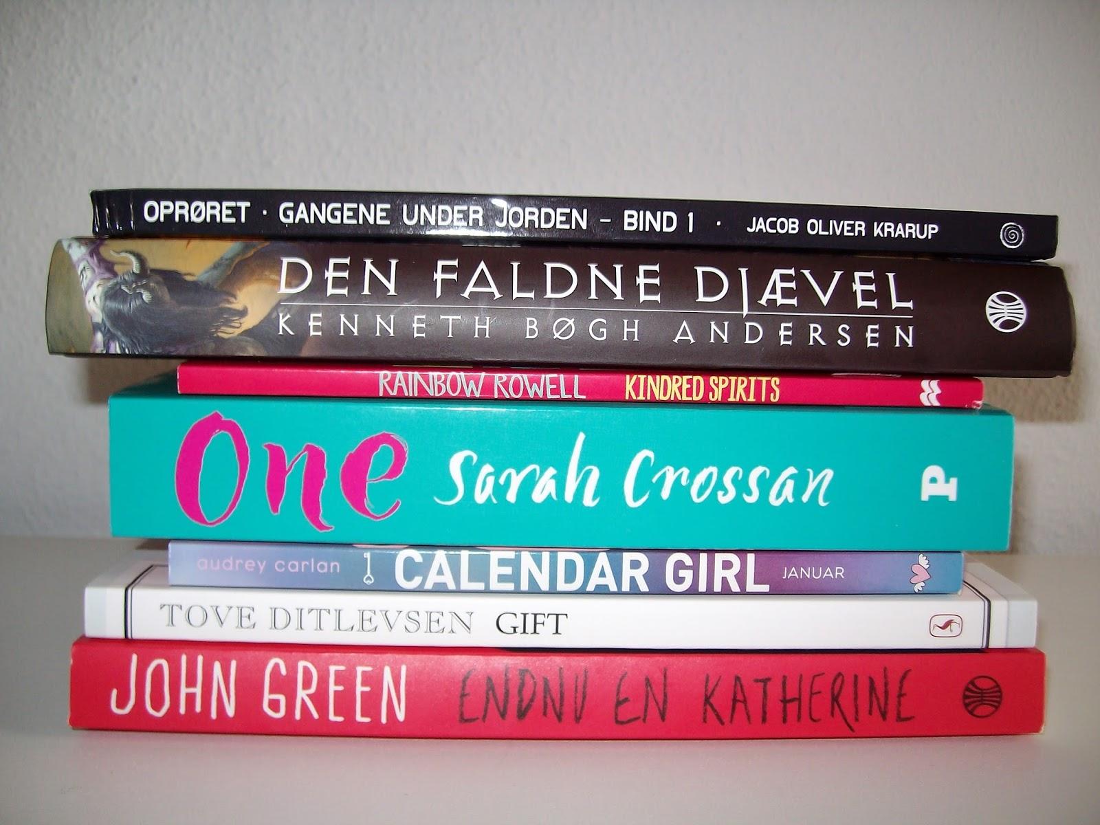 64df9fbbe4e Sidst, men bestemt ikke mindst, fik jeg læst hele 7 bøger til Dewey´s 24  Hour Readathon. Bøgerne var: