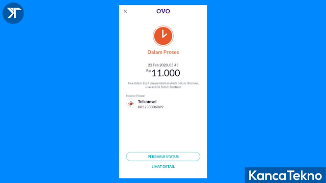 Cara Membeli Pulsa Seluler di Aplikasi OVO, Mudah Sekali