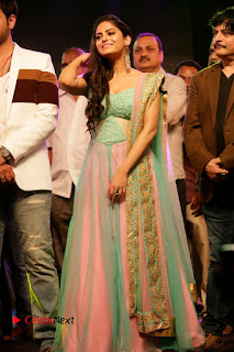 Actress Naina Ganguly Stills in Long Dress at Vangaveeti Audio Launch  0123.JPG