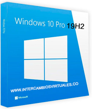 Windows 10 Pro 19H2 1909.10.0.18363.719 poster box cover