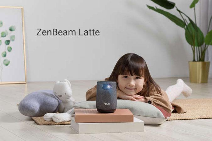 ZenBeam Latte, Proyektor LED Seukuran Cangkir Kopi