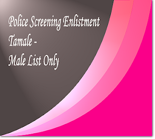 Tamale police screening list for male