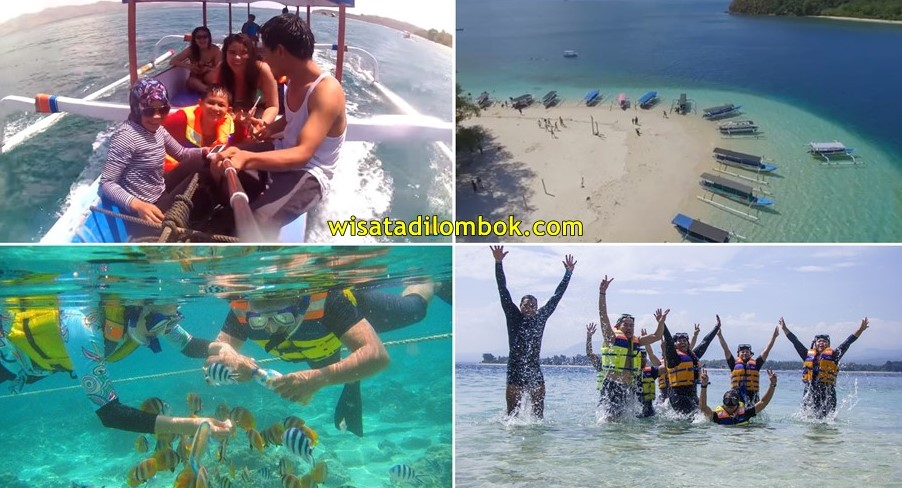 Wisata Harian Gili Nanggu Lombok