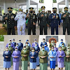 Peringati HUT ke-76 TNI, Pangdam Hasanuddin Pimpin Ziarah Nasional di TMP Panaikang