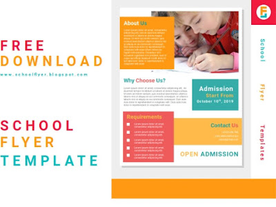 Free School Flyer templates Word Document Fully Editable File
