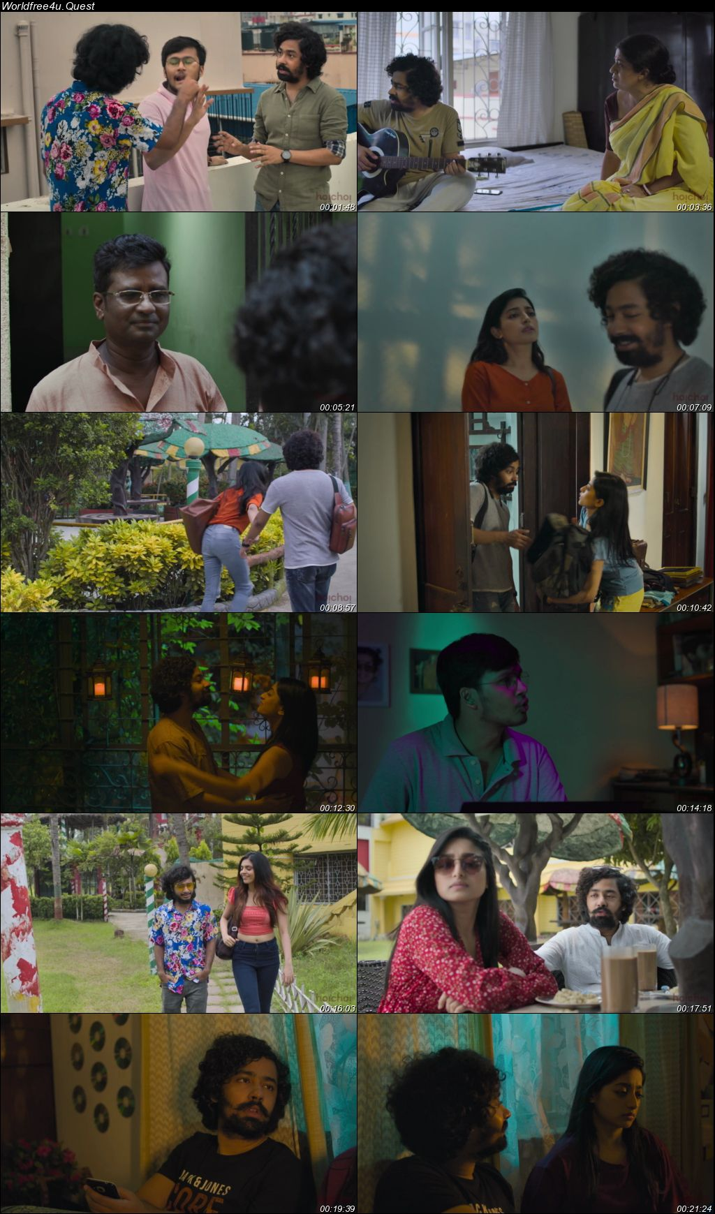 Boyfriends and Girlfriends 2021 (Season 1) WEB Series HDRip 1080p