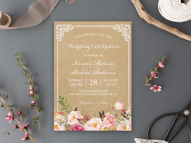 24 Rustic Invitation Ideas for Outdoor Country Weddings ...