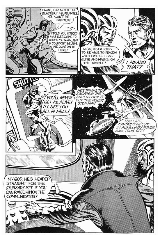 Atomic kommie comics reading room reality quasar originally drawn for web of horror this early tale by steve hickman ended up in the first issue of reality a fanzine published in 1970 by 15 year old fandeluxe Image collections