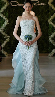 Oscar+de+La+Renta - Vestidos de Noiva Coloridos - Inspirações
