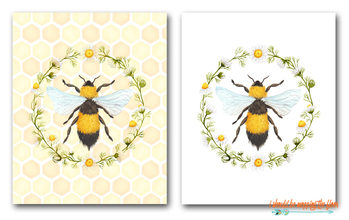 Free Bumble Bee Printables