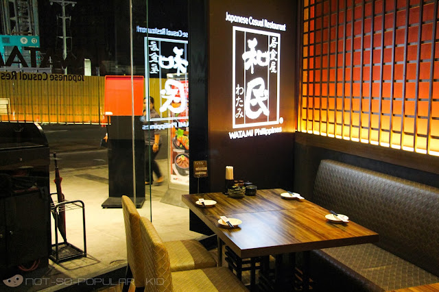 Watami Restaurant in Glorietta
