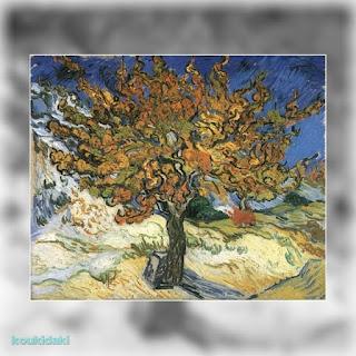 Πίνακας ζωγραφικής Vincent Van Gogh (Mulberry tree, 1889)