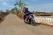 Jalan Usai Dibangun TMMD - Semakin Favorit Untuk Melintas Warga Jatiwarno