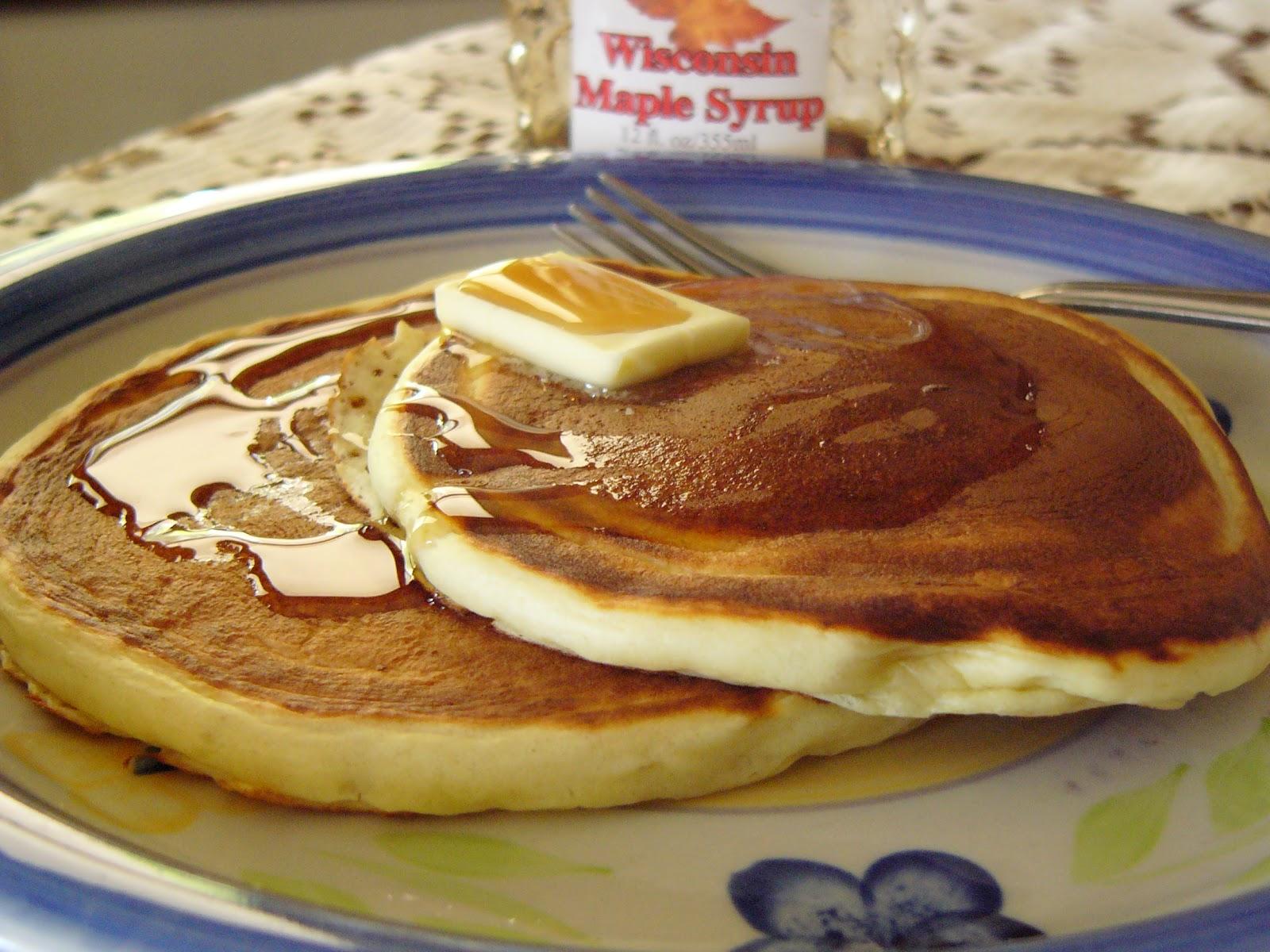 Big Rigs 'n Lil' Cookies: Gram's Buttermilk Pancakes