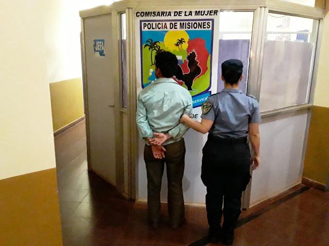 CAMPO GRANDE -  Policías detuvieron a un hombre que intentó agredir a su pareja