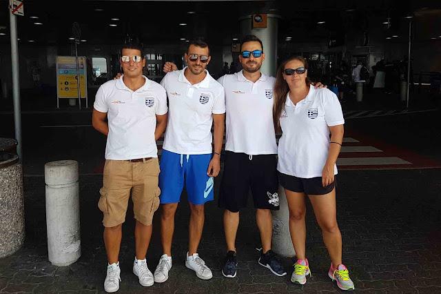 """Αναχώρησε η αποστολή των """"Ιπτάμενων"""" για το Παγκόσμιο Πρωτάθλημα Fina World Masters Championship 2017"""