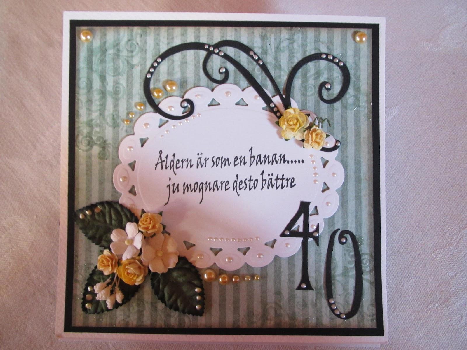 roliga grattiskort 40 år Evas pysselhörna: februari 2012 roliga grattiskort 40 år