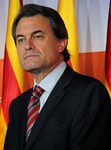 129th President of Catalonia,  Artur Mas