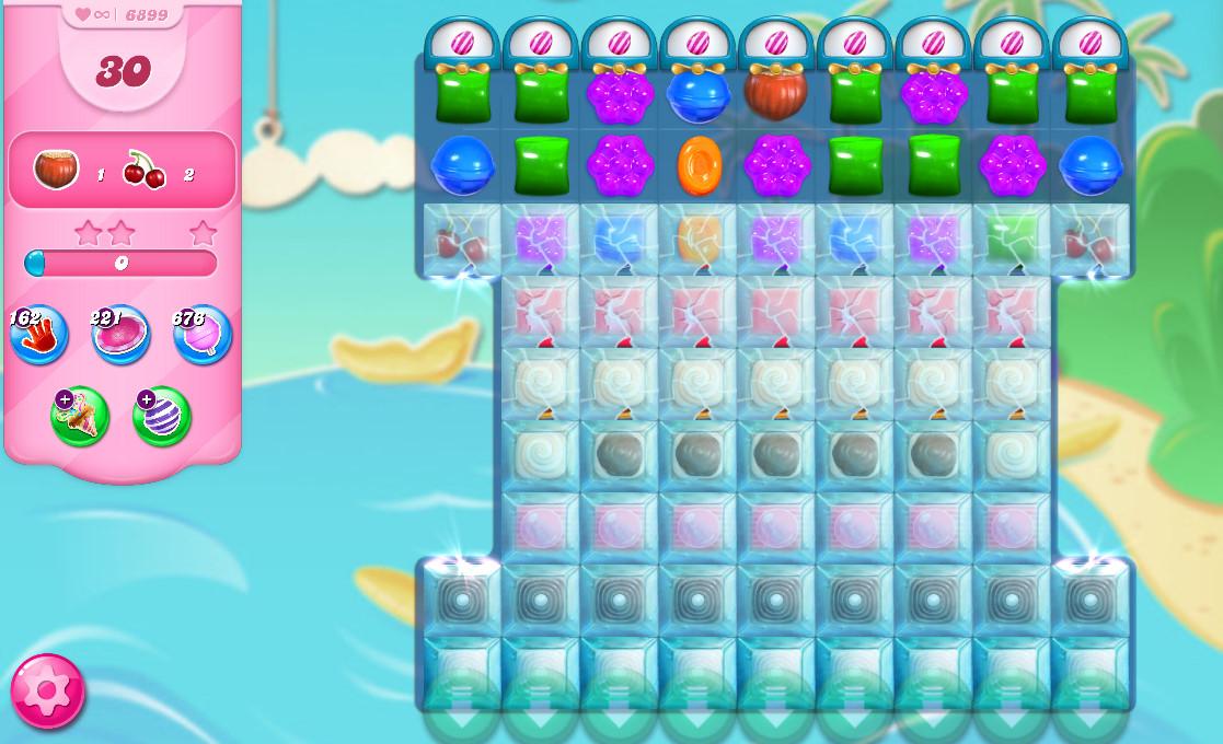 Candy Crush Saga level 6899