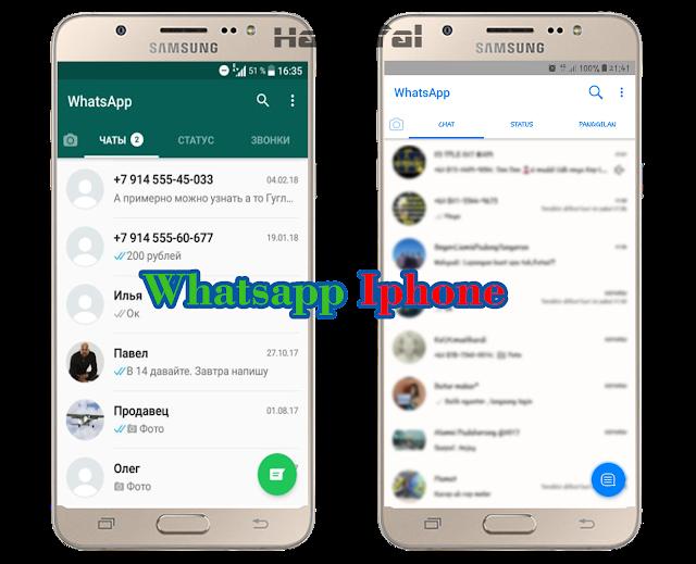 Cara Agar Tampilan Tema Whatsapp Seperti Iphone Untuk Android Tanpa Aplikasi