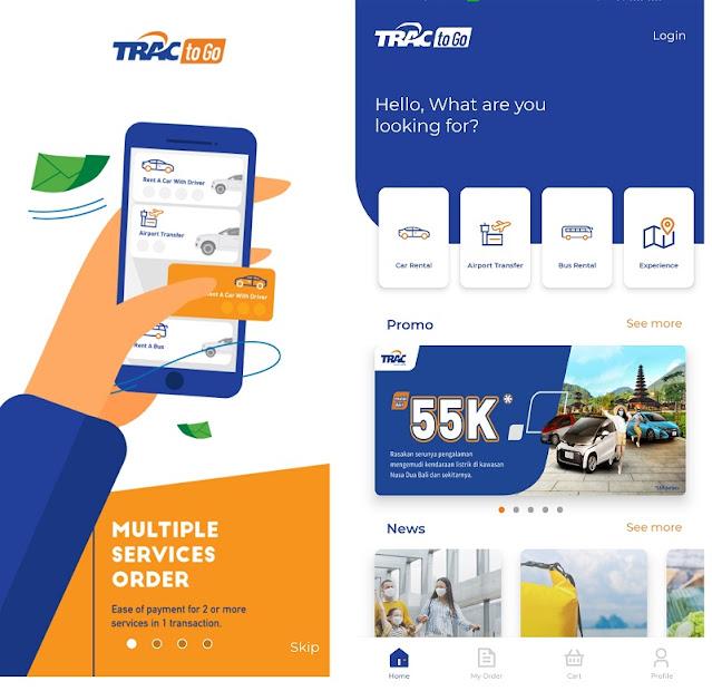 Mengenal Aplikasi TRAC To Go