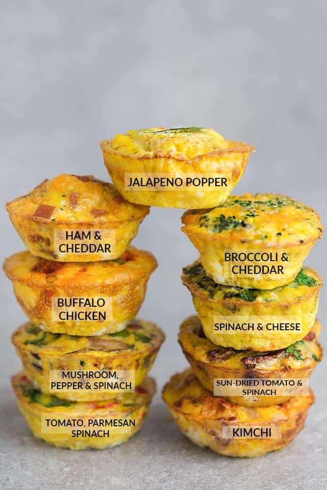 Low Carb Egg Muffin - Low Carb Egg Muffin make the perfect breakfast for on the go. They're packed with protein and so convenient for busy mornings.