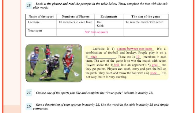 9. Sınıf Yıldırım Yayınları İngilizce A1.2 Ders Kitabı 52. Sayfa Cevapları Theme 4 Sports
