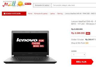 laptop gaming paling murah