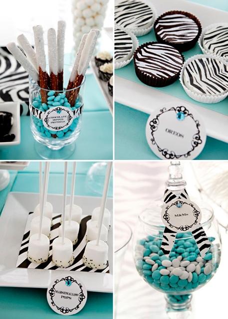 festa tema zebrinha