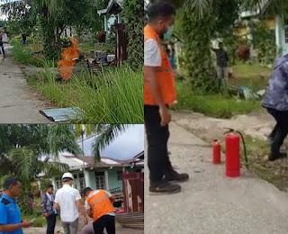3 Kali Kebocoran Pipa Gas PGN dan Mengeluarkan Api Mengkhawatirkan Masyarakat Tanjung Palas