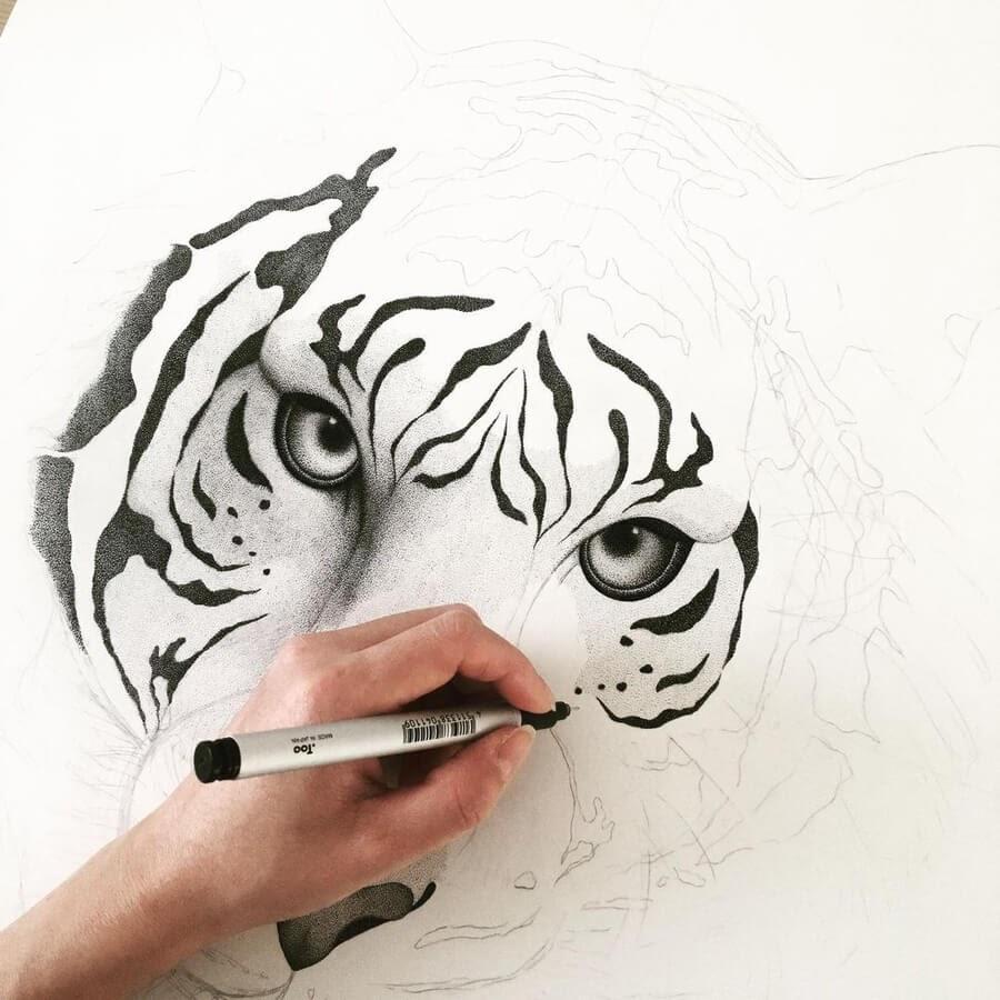 01-Tiger-WIP-Stine-Lee-www-designstack-co
