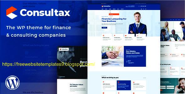 Lt loan – free responsive business joomla template.