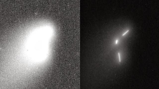 """Két ismeretlen """"objektum"""" kíséri az ISON üstököst? - Videó,képekkel"""