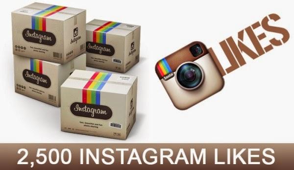 2500 Instagram Photo Likes