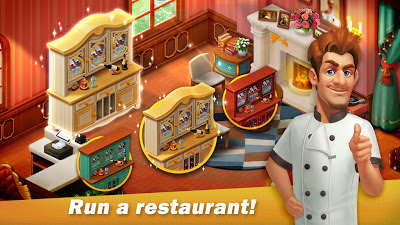 تحميل لعبة الطبخ الممتعة Restaurant Renovation النسخة المهكرة للاجهزة الاندرويد باخر تحديث