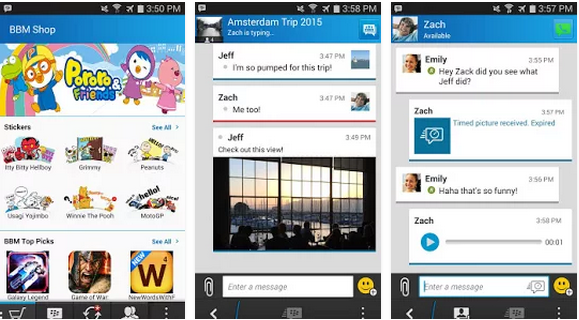 Download BBM 2.7.0.23 APK for Android