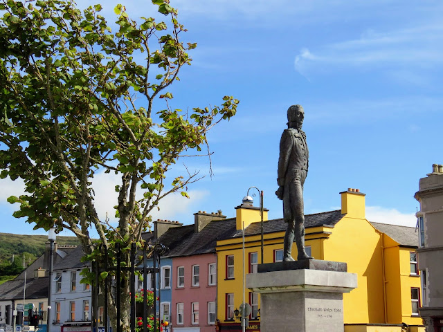 West Cork Ireland - Wolfe Tone Square in Bantry