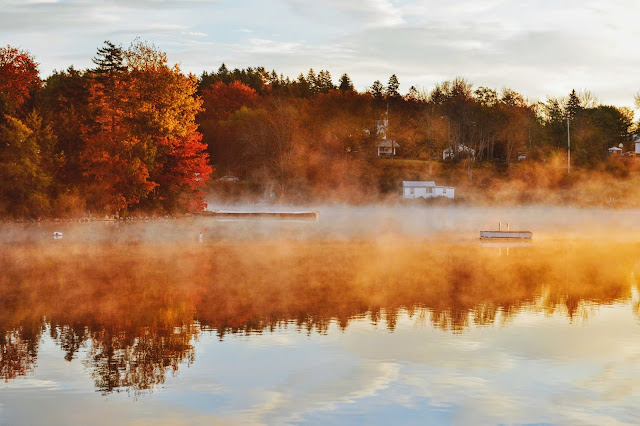 Porters Lake, Nova Scotia in Fall