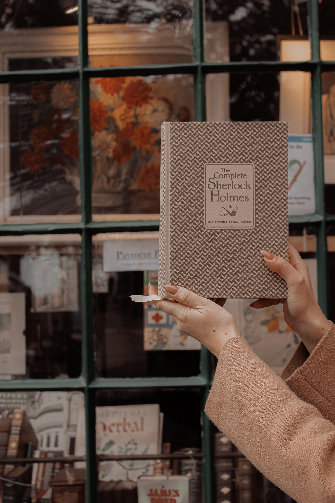 Sherlock Holmes Hardback Book