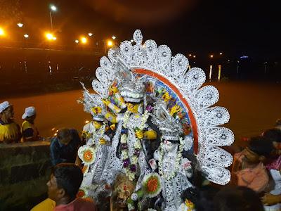 Maa Durga Visarjan