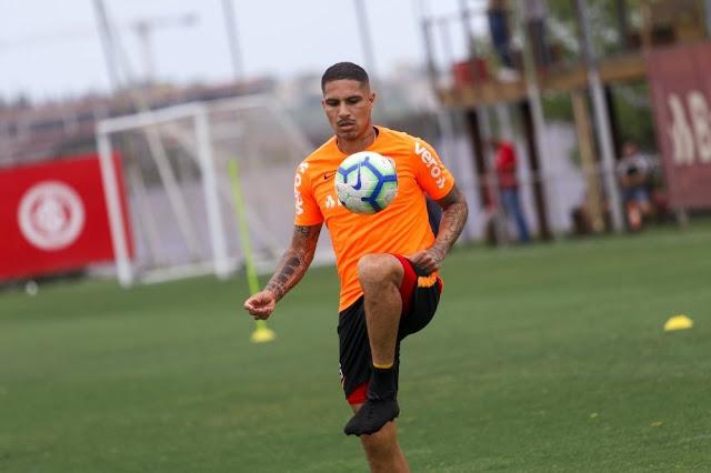 Camisa 9 atuará hoje contra o Botafogo  (Foto: Divulgação / Inter)