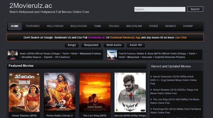 MovieRulz – Download HD Movies Tamil, Bollywood and Hollywood Online