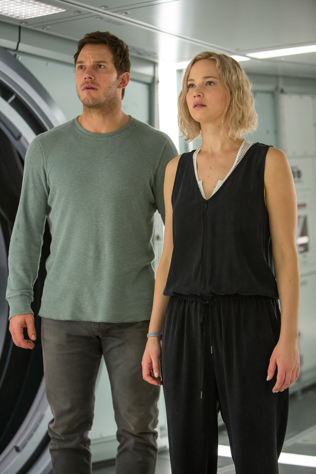 Jennifer Lawrence y Chris Pratt en Passengers (Pasajeros ...