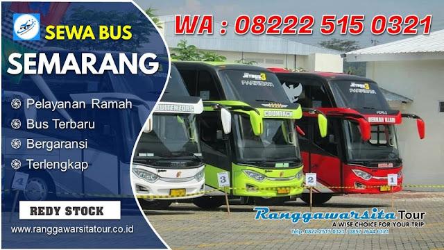 Sewa Bus Semarang Terbaik